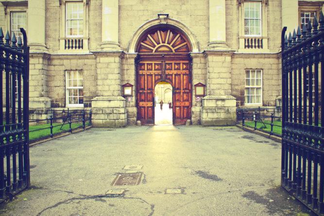 European entrance